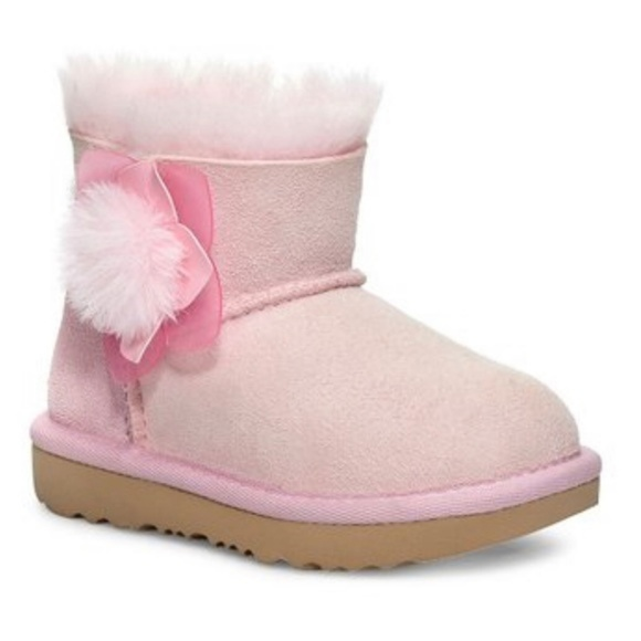 6a9d5a7227e NEW UGGs Seashell Pink Mini Bailey 2 Cactus Flower NWT